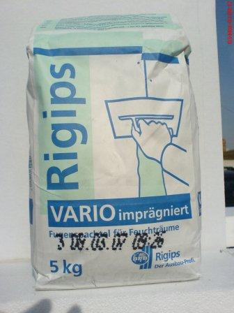 rigips vario waterpfoof